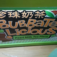 Photo taken at BubbaTeaLicious Pearl Milk Tea Place by Mariedol L. on 5/24/2014