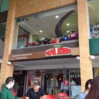 Photo taken at Papa John's by Manuel R. on 11/7/2012