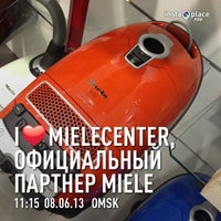 Photo taken at MieleCenter, официальный партнер Miele в Омске by Vasiliy N. on 6/8/2013