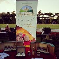 Photo taken at Roma Polo Club by Edmondo A. on 9/27/2014