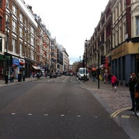 Photo taken at Shaftesbury Avenue by James Arthur C. on 6/23/2013