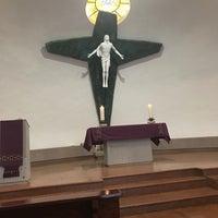 Photo taken at Parroquia Sta. María Madre de la Misericordia by Irma R. on 3/23/2017