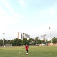 Photo taken at Sports Field by Punchhy on 4/3/2017