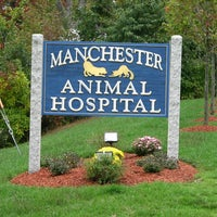Photo taken at Manchester Animal Hospital by Manchester Animal Hospital on 5/4/2016