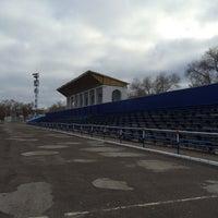 Photo taken at Стадион «Динамо» by Владимир П. on 11/7/2015