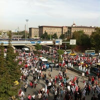 Photo taken at Tandoğan Square by özge M. on 10/29/2012