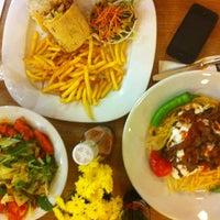 Photo taken at Timboo Cafe by özge M. on 10/15/2012