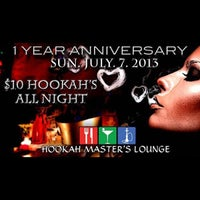 Foto tirada no(a) Hookah MASTER's Lounge ™ por Garrett Y. em 7/7/2013