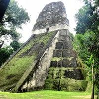 Photo taken at Parque Nacional Tikal by Zsuzsa P. on 1/24/2013