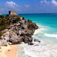 Photo taken at Tulum Archeological Site by Zsuzsa P. on 1/29/2013