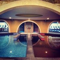 Photo taken at Aquaticum Termál és Wellness Hotel by Zsuzsa P. on 11/13/2014