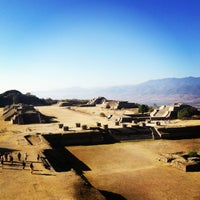 Photo taken at Monte Albán by Zsuzsa P. on 1/14/2013
