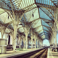 Photo taken at Gare do Oriente Train Station by Andre R. on 3/18/2013