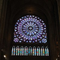 Photo taken at Cathedral of Notre Dame de Paris by Gloria C. on 6/30/2013