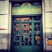 Photo taken at Al Pont de Ferr by Gloria C. on 11/28/2012