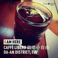 Photo taken at Libero Coffee & Bar by Gloria C. on 4/1/2013