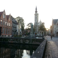 Photo taken at Jan Van Eyck Plein by Rob on 10/16/2012