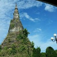 Photo taken at That Dam Stupa by Joey L. on 6/20/2017
