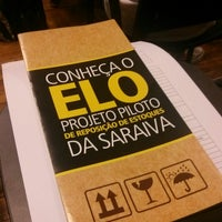 Photo taken at Livraria Saraiva by André W. on 9/26/2014