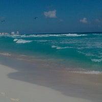 Photo taken at Playa Marlin by Hugo R. on 1/5/2013