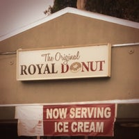 Photo taken at Royal Donut Shop by Danny S. on 6/24/2013