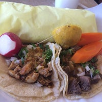 Photo taken at Ricos Tacos el Tio by Michael H. on 5/8/2014