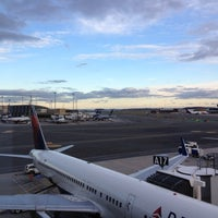 Photo taken at Delta Sky Club by Patrick on 11/1/2012