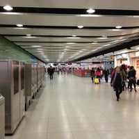 Photo taken at MTR Central Station by Svet on 1/18/2013
