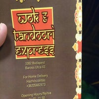 Foto tirada no(a) Wok & Tandoori Express por Szava G. em 1/24/2016