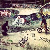 Photo taken at Skatepark - Motta by Paolo B. on 10/1/2012