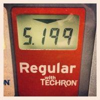 Photo taken at Chevron by Jonathan B. on 10/9/2012