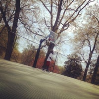 Photo taken at Piedmont Park - Basketball Courts by Desha R. on 4/7/2013