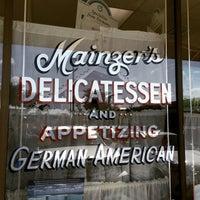 Photo taken at Mainzer's Delicatessen by Eric R. on 1/31/2015