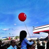 Photo taken at Lefkoşa Tören Alanı by Etem S. on 10/29/2012