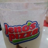 Photo taken at Jeno's Pizza by Bibi A. on 3/21/2014