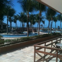 Photo taken at Hotel Lagoa Do Banana by Leonardo d. on 11/8/2012