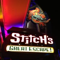 Photo taken at Stitch's Great Escape! by Jordan N. on 10/23/2012