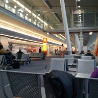 Photo taken at Terminal A by Tomasz S. on 11/18/2013