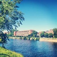Photo taken at Esplanade du Centenaire, Canal Lachine by Lorne C. on 6/6/2013