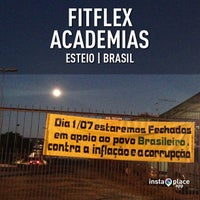 Photo taken at FitFlex Academias by Vinicius S. on 6/22/2013