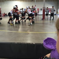 Photo taken at Texas Rollergirls by Brian T. on 9/26/2015