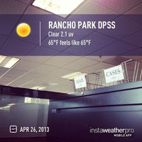 Photo taken at Rancho Park DPSS by Tolitz R. on 4/26/2013