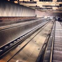 Photo taken at MBTA Porter Square Station by Chris F. on 9/15/2012