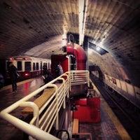 Photo taken at MBTA Porter Square Station by Chris F. on 3/3/2013