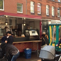 Photo taken at Wochenmarkt Lister Meile by Marc H. on 4/14/2016