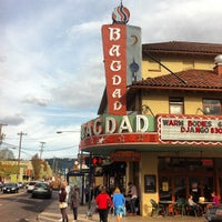 Снимок сделан в Bagdad Theater & Pub пользователем Scott M. 3/28/2013
