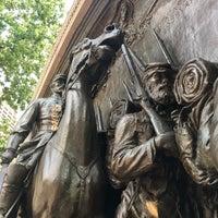 Photo taken at Robert Gould Shaw Memorial by Scott M. on 8/6/2017