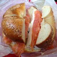 Photo taken at Wonder Bagels by Cuppy C. on 10/28/2012