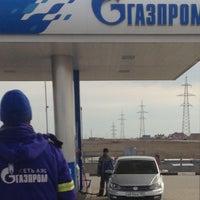Photo taken at Газпром Заправка by Danil P. on 4/7/2016
