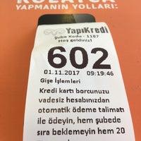 Photo taken at Yapıkredi Bankası Çekmeköy Şb by murat g. on 11/1/2017